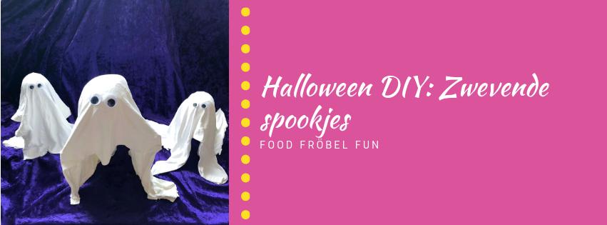 DIY: Zwevende spookjes voor Halloween