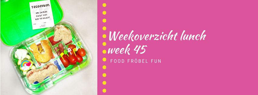 Weekoverzicht lunch week 45