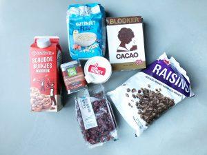 Sinterklaas granola ingrediënten
