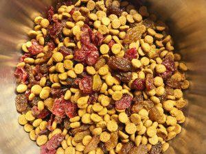 Sinterklaas granola mixen