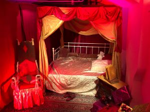 Sinterklaashuis Eindhoven - slaapkamer Sinterklaas