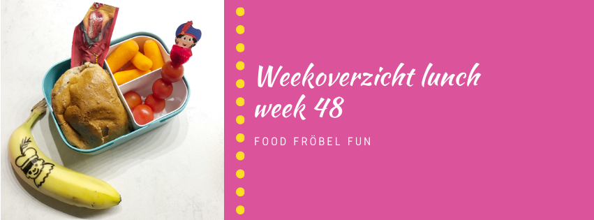 Weekoverzicht lunch week 48