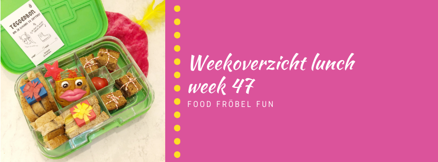 Weekoverzicht lunch week 47