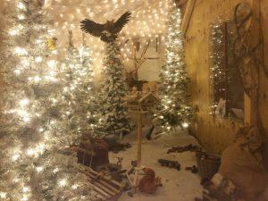 kerstmarkt oberhausen CentrO huis kerstman
