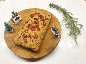 kerstbrood gezond - resultaat