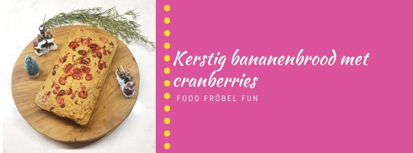 Handige hapjes: Gezond kerstbrood met cranberries