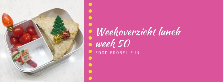 Weekoverzicht lunch week 50