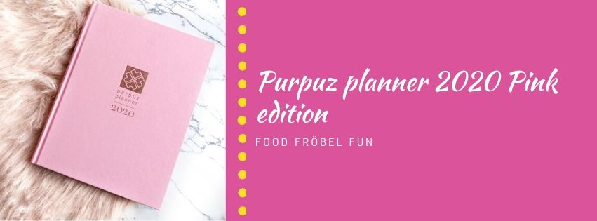 Purpuz planner 2020 Pink edition
