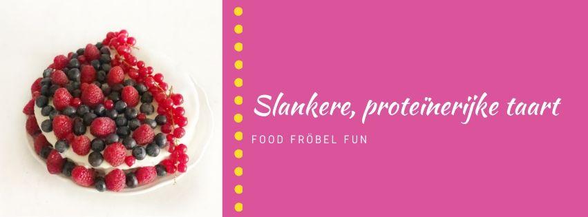 Een heerlijke slankere proteïnerijke taart zelf maken