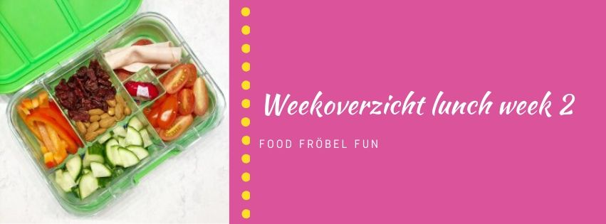 Weekoverzicht lunch week 2