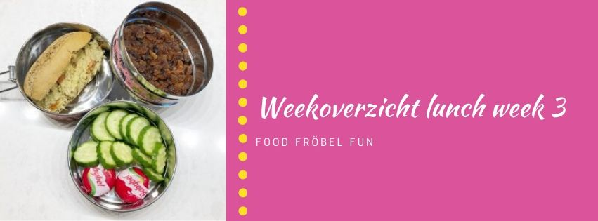 Weekoverzicht lunch week 3