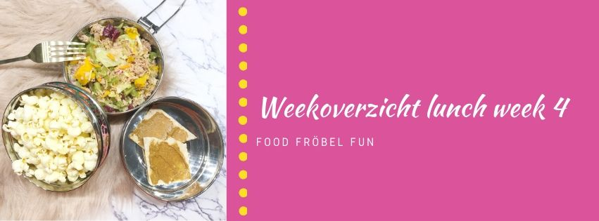 Weekoverzicht lunch week 4