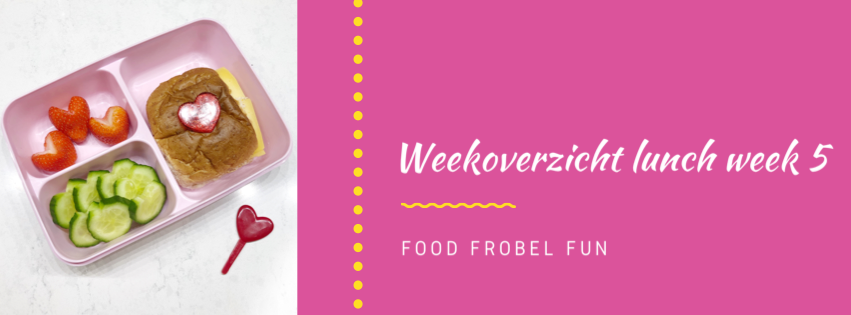 Weekoverzicht lunch week 5