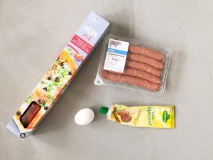 worstenbrood bakken gemakkelijk snel  ingredienten