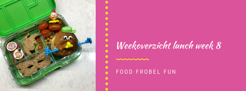 Weekoverzicht lunch week 8