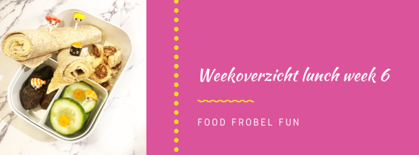 Weekoverzicht lunch week 6