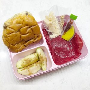 weekoverzicht bento lunch ma 11