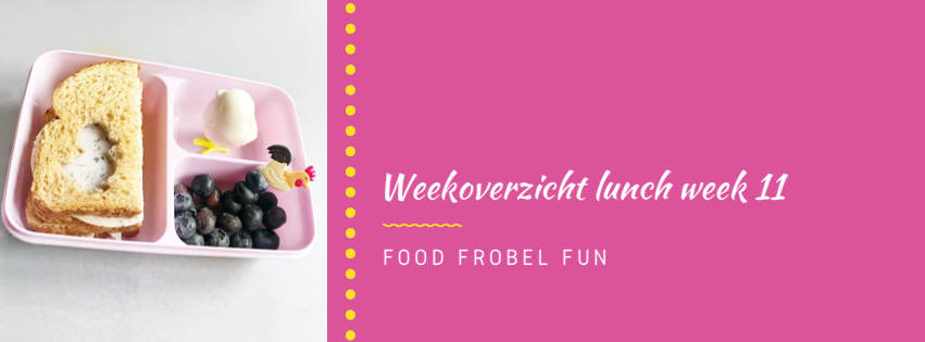 Weekoverzicht lunch week 11