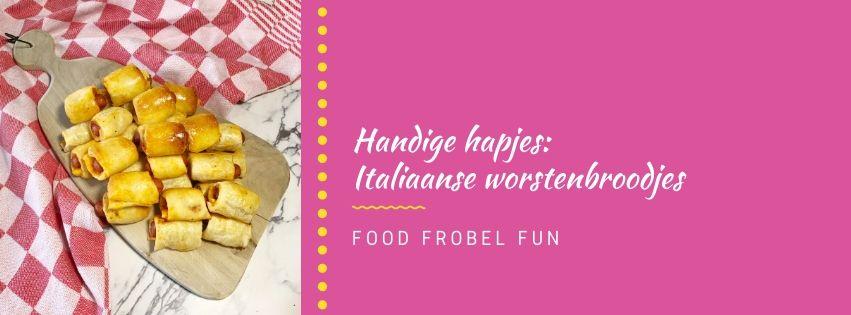 Handige hapjes: Italiaanse worstenbroodjes
