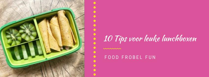 De kids gaan weer naar school: 10 Tips voor leuke lunchboxen