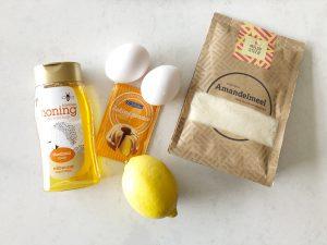 eierkoeken maken - ingrediënten