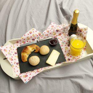 ontbijt op bed verjaardag