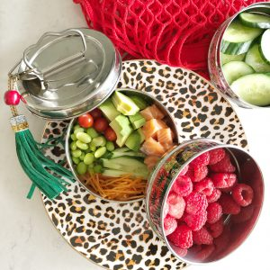 boho tiffin lunchbox bento box weekoverzicht lunchen gezonde lunch