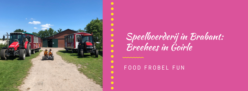 Leuke speelboerderij in Brabant: Breehees in Goirle