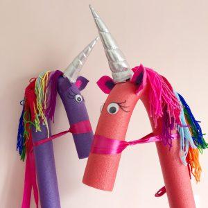 unicorn DIY stokpaard