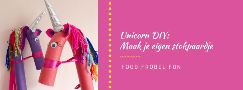 Unicorn DIY: Maak je eigen stokpaardje