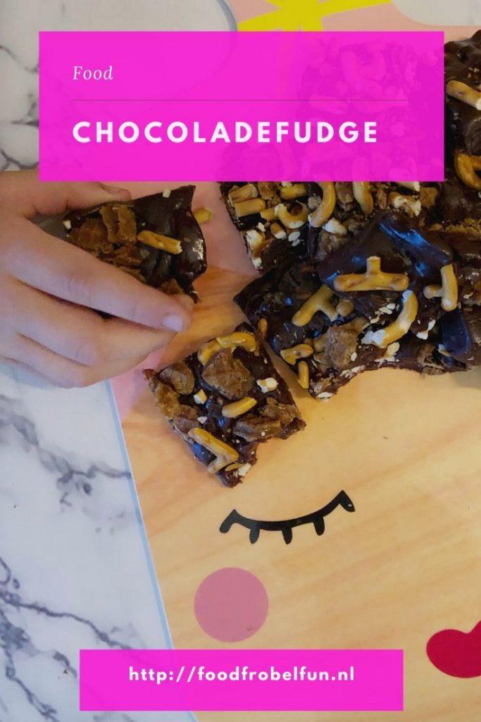 chocoladefudge zelf maken pinterest