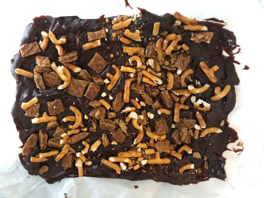 chocoladefudge afkoelen