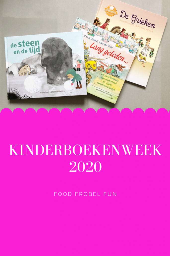 Kinderboekenweek 2020 - activiteiten pinterest