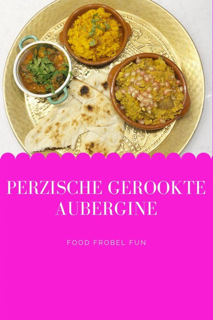 Perzische gerookte aubergine - pinterest