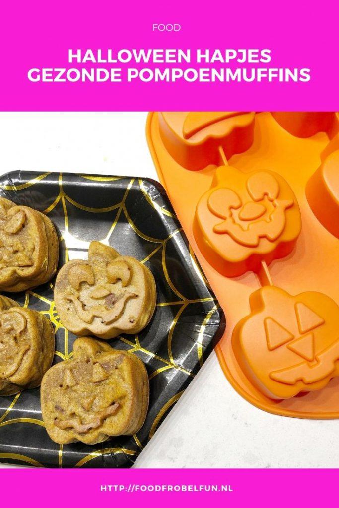 Halloween Pompoenmuffins Pinterest