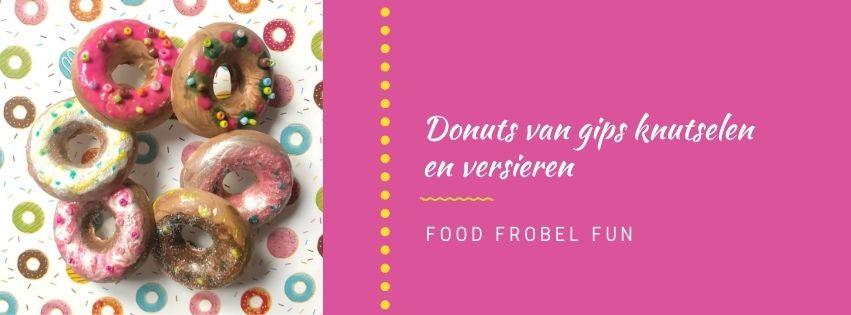 Donuts knutselen met Totum