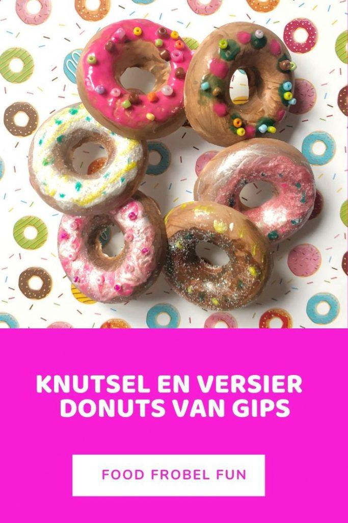 donuts knutselen gips - pinterest