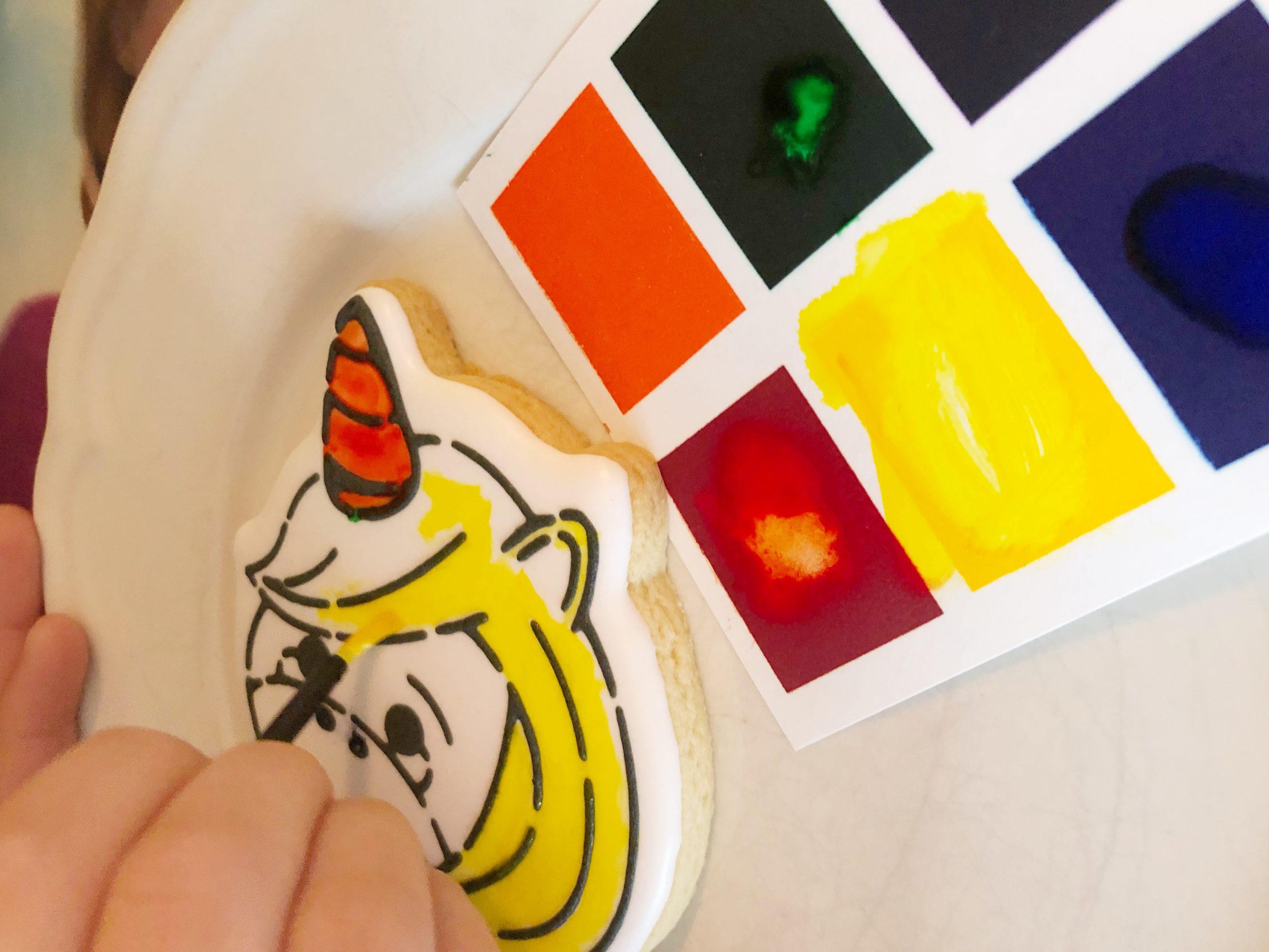koekjes schilderen - koekatelier