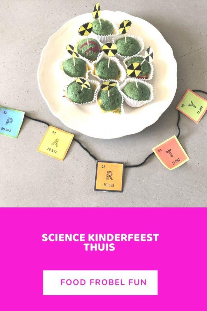 science kinderfeest thuis