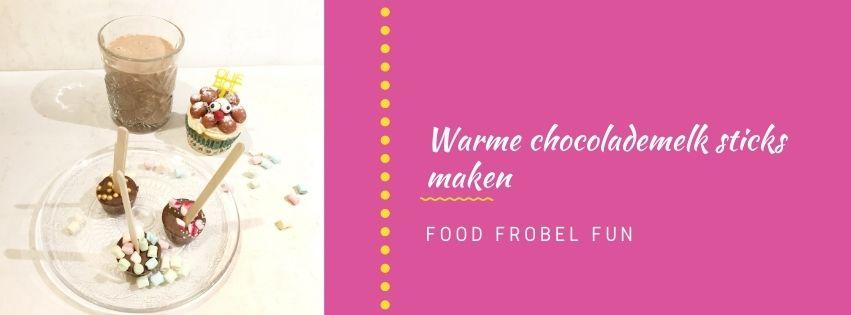 Warme chocolademelk sticks maken