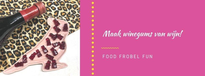 Zelf winegums maken van echte wijn!
