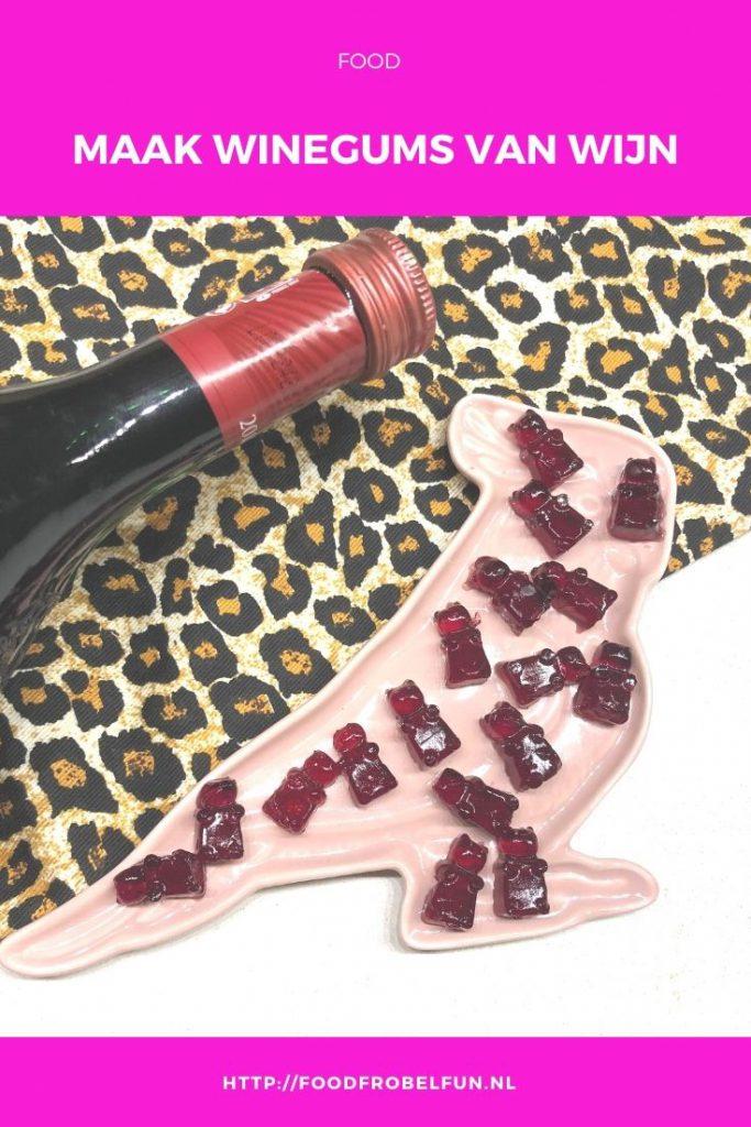 winegums van echte wijn - pinterest