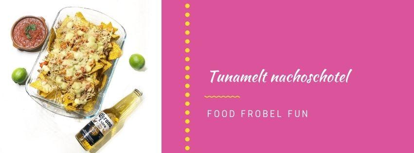 Nachos met tonijn: tunamelt tortillachips