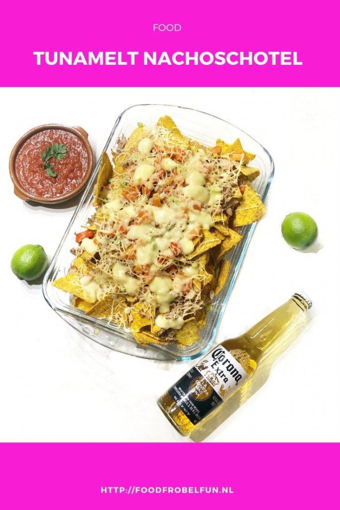 nachos tortillachips tonijn - pinterest
