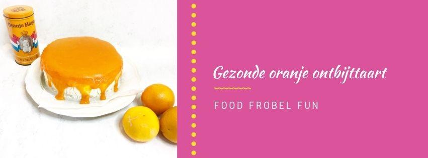 Koningsdag: Gezonde oranje ontbijttaart