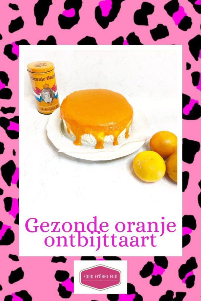 gezonde oranje ontbijttaart - pinterest
