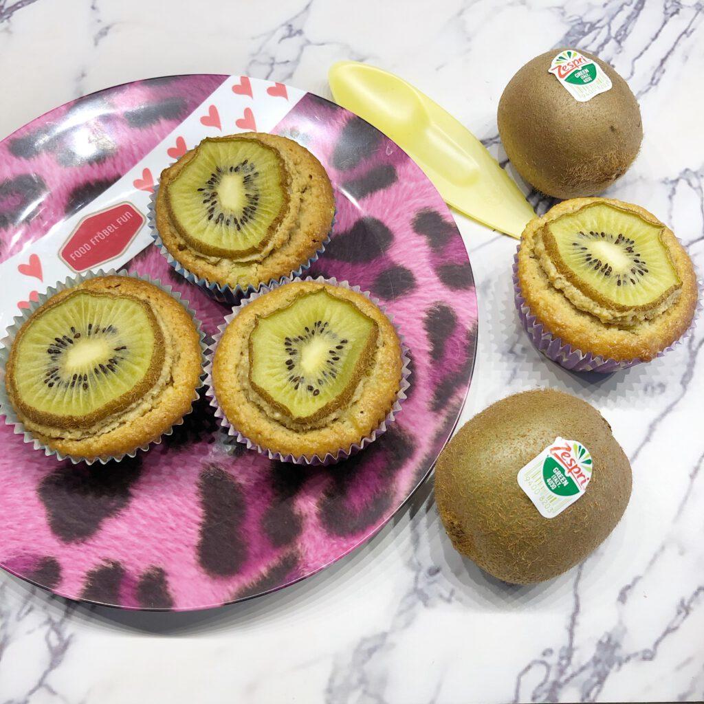 gezond ontbijt zonder brood - kiwi muffin zespri
