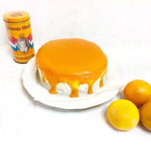 koningsdag gezonde oranje ontbijttaart