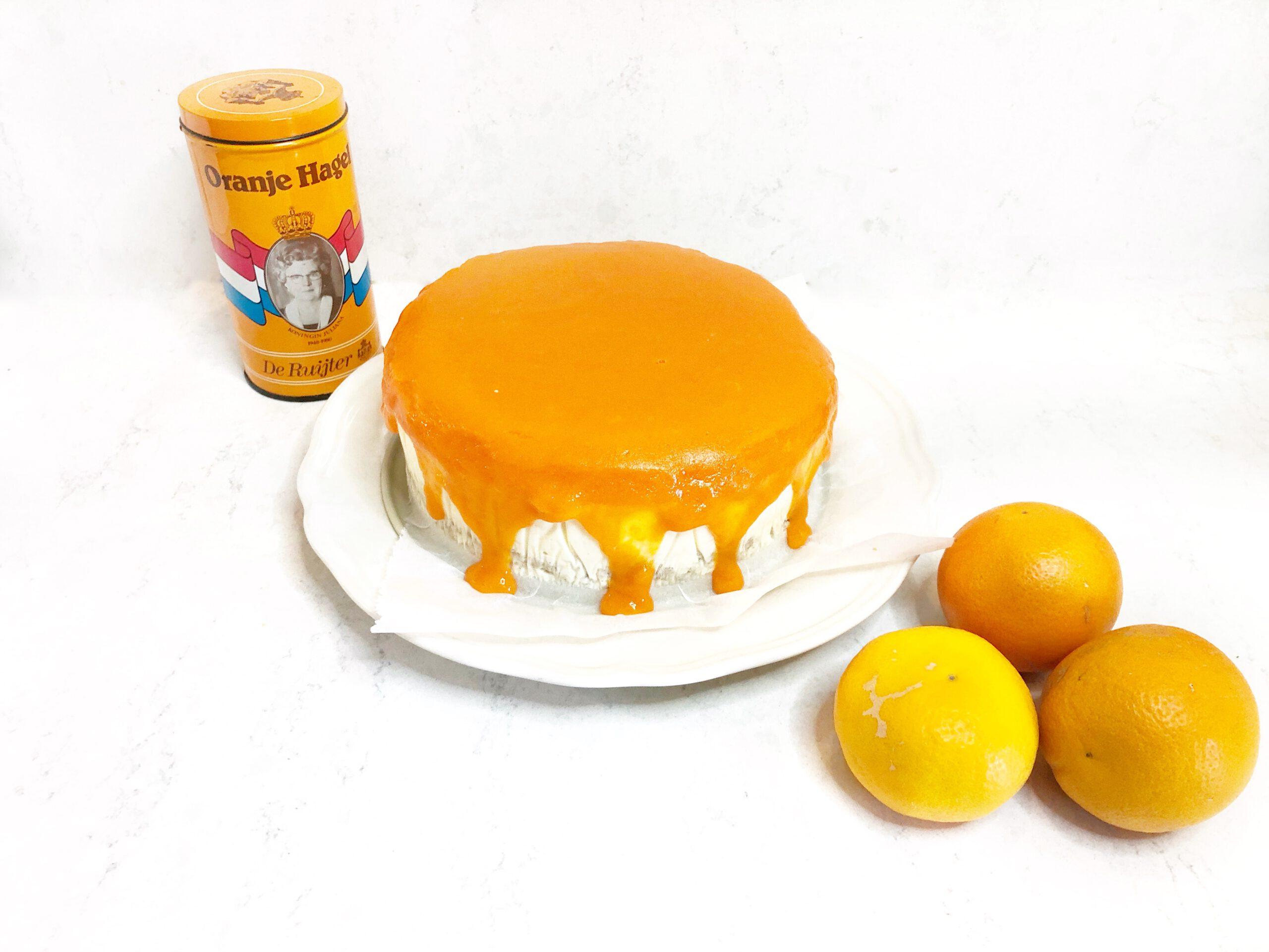 koningsdag gezonde oranje ontbijttaart makkelijk zelf maken.