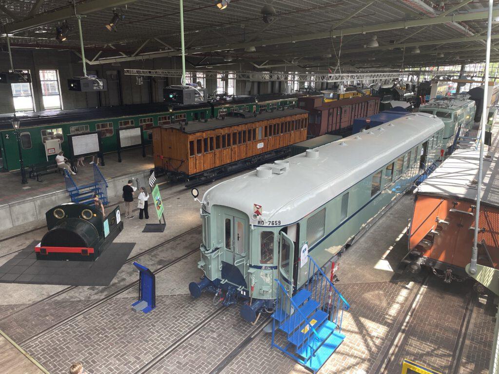 spoorwegmuseum - overzicht